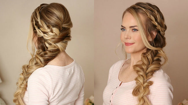 The Chic Side Braid